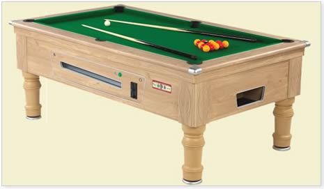supreme prince oak pool table